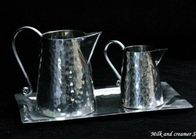 Mile and creamer set